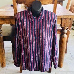 Vintage Pendleton Blouse - Semi Sheer - Excellent